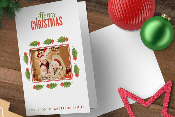 Personalised Christmas Cards - designed just for you! The Press Gang